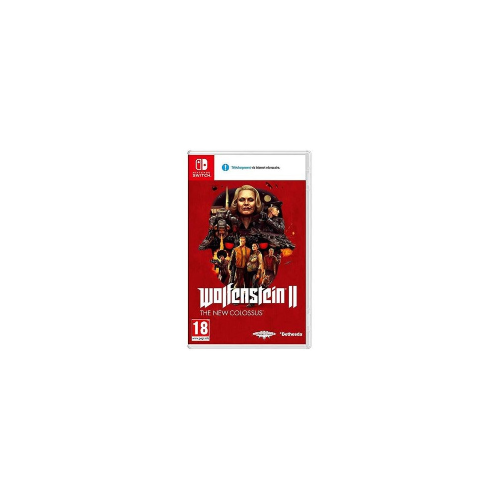 WOLFENSTEIN 2 THE NEW COLOSSUS SWITCH FR NEW