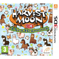 HARVEST MOON A NEW BEGINING 3DS FR OCCASION