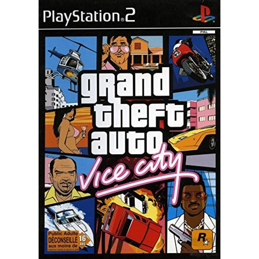 GTA VICE CITY - GRAND THEFT AUTO VICE CITY PS2 PAL-FR OCCASION