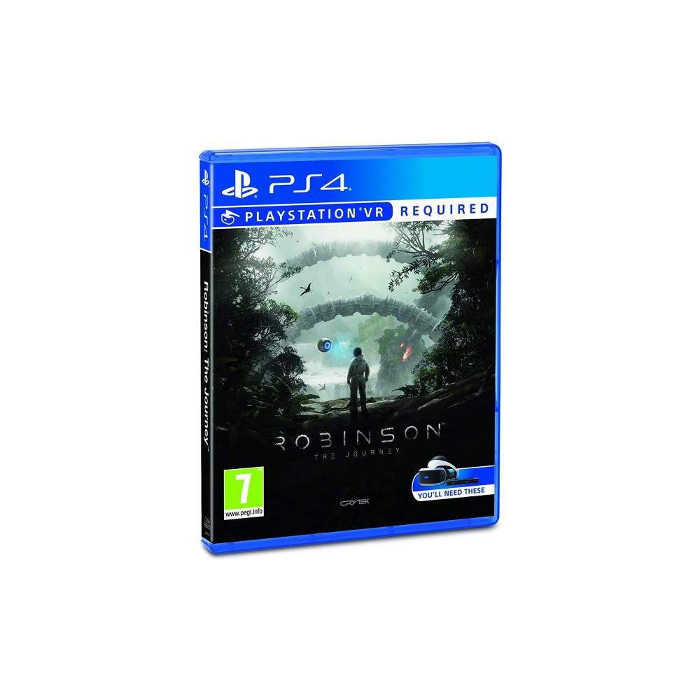 ROBINSON THE JOURNEY PS4 FR NEW
