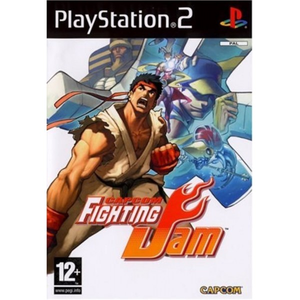 CAPCOM FIGHTING JAM PS2 PAL FR OCCASION (ETAT B)
