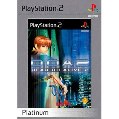 DEAD OR ALIVE 2 PLATINUM PS2 PAL-FR OCCASION