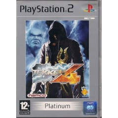 TEKKEN 4 PLATINUM PS2 PAL-FR OCCASION