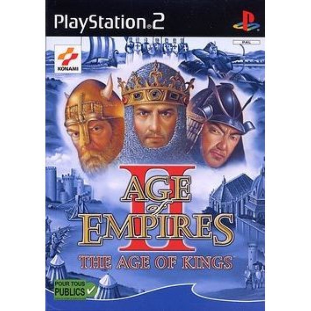 AGE OF EMPIRES II THE AGE OF KINGS PS2 PAL-FR OCCASION