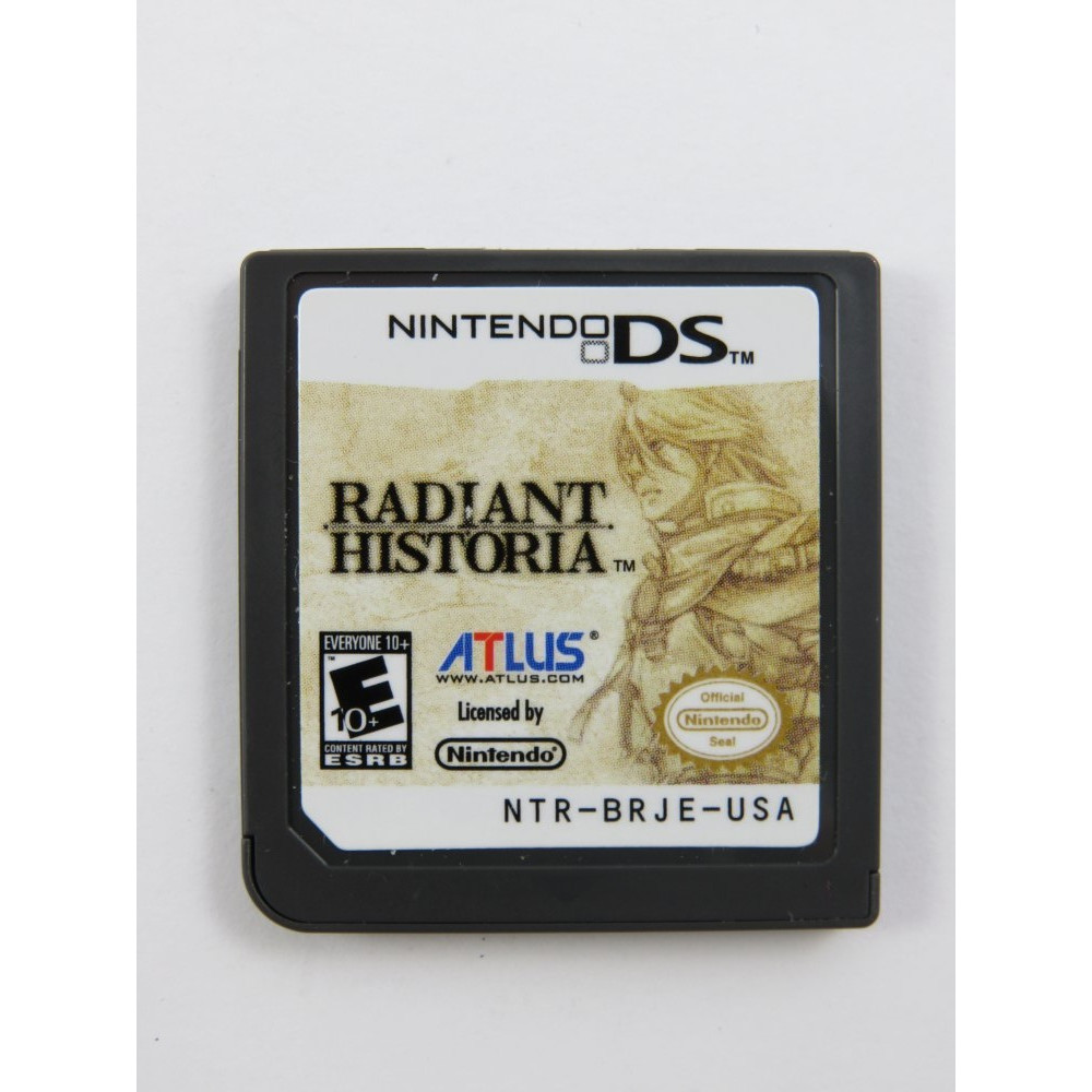 RADIANT HISTORIA NDS USA LOOSE
