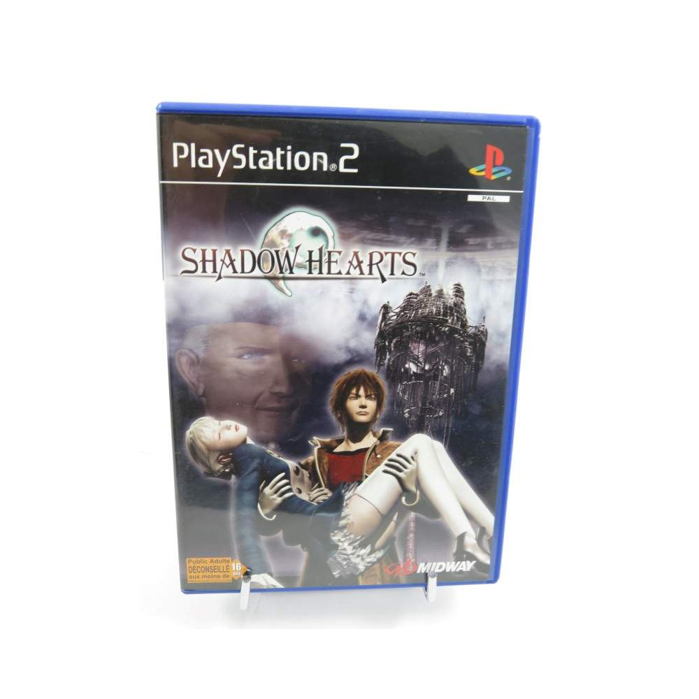 SHADOW HEARTS PS2 PAL FR OCCASION