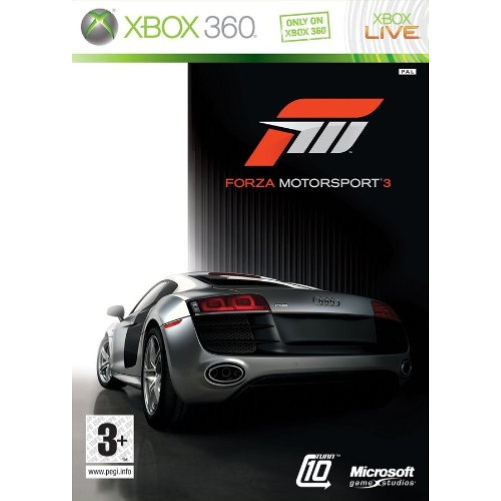 FORZA MOTORSPORT 3 XBOX 360 PAL-FR OCCASION