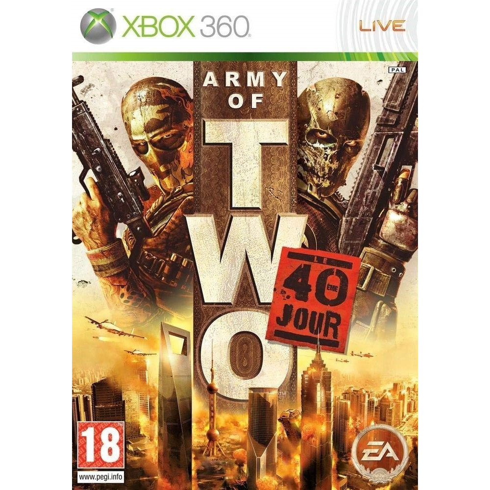 ARMY OF TWO:40EME JOUR XBOX 360 PAL-FR OCCASION