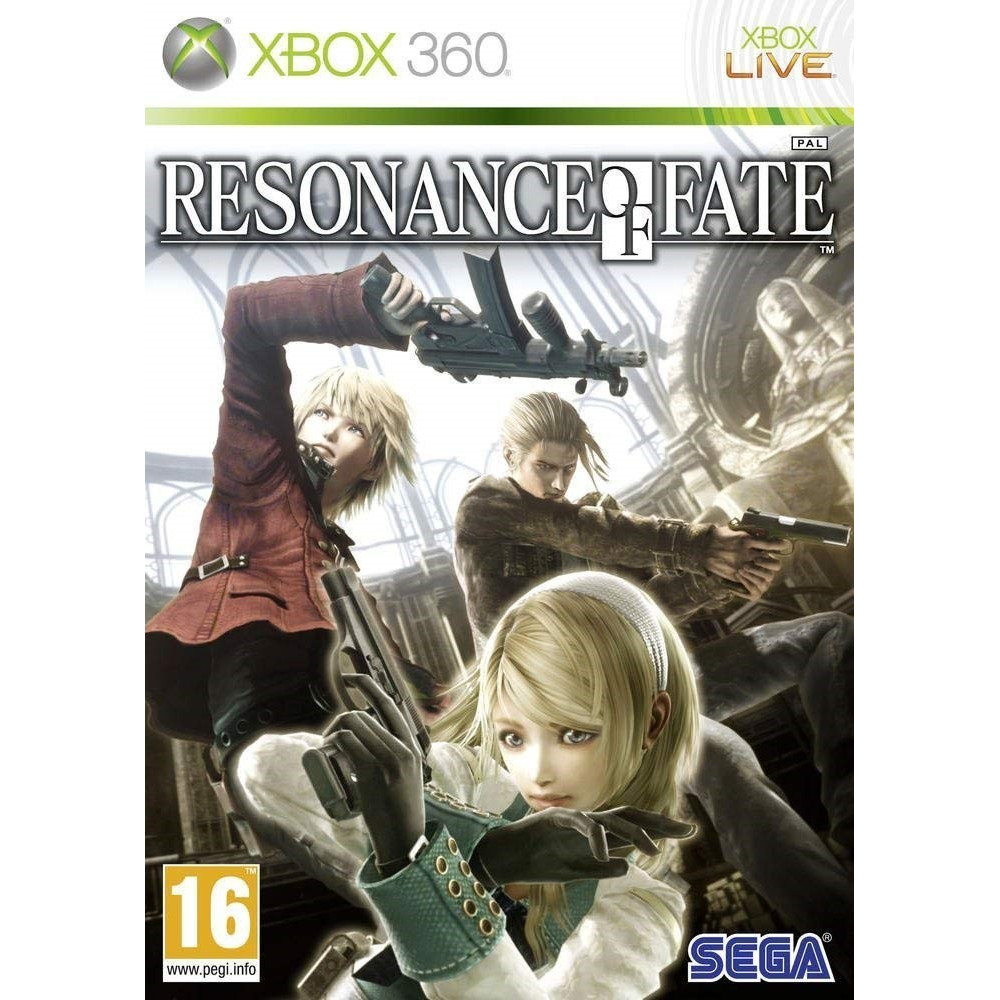 RESONANCE OF FATE XBOX 360 PAL-FR OCCASION