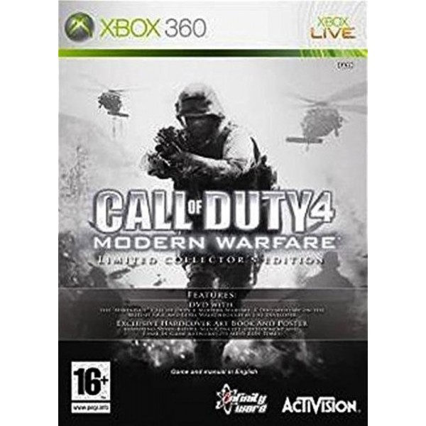 CALL OF DUTY 4 MODERN WARFARE EDITION COLLECTOR LIMITEE XBOX 360 PAL-FR OCCASION