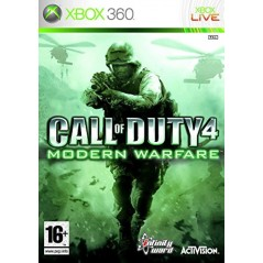 CALL OF DUTY 4 MODERN WARFARE XBOX 360 PAL-FR OCCASION