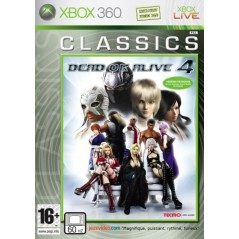 DEAD OR ALIVE 4 CLASSICS XBOX 360 PAL-FR OCCASION
