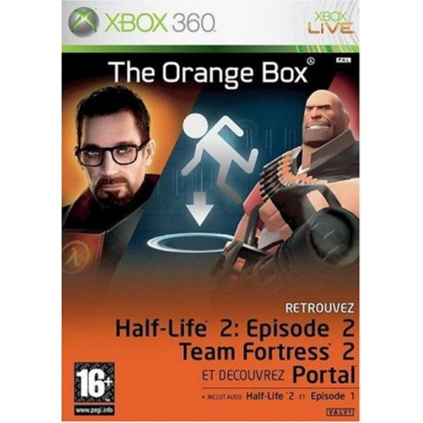 THE ORANGE BOX X360 PAL-FR OCCASION (ETAT B)