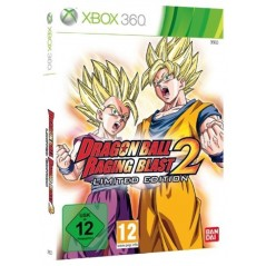 DRAGON BALL RAGING BLAST 2 LIMITED EDITION XBOX 360 PAL-EURO OCCASION
