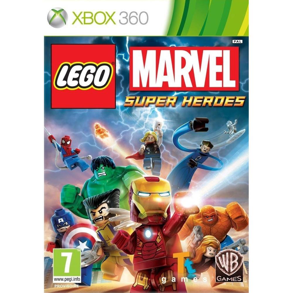 LEGO MARVEL SUPER HEROES XBOX 360 PAL-FR OCCASION (ETAT B)