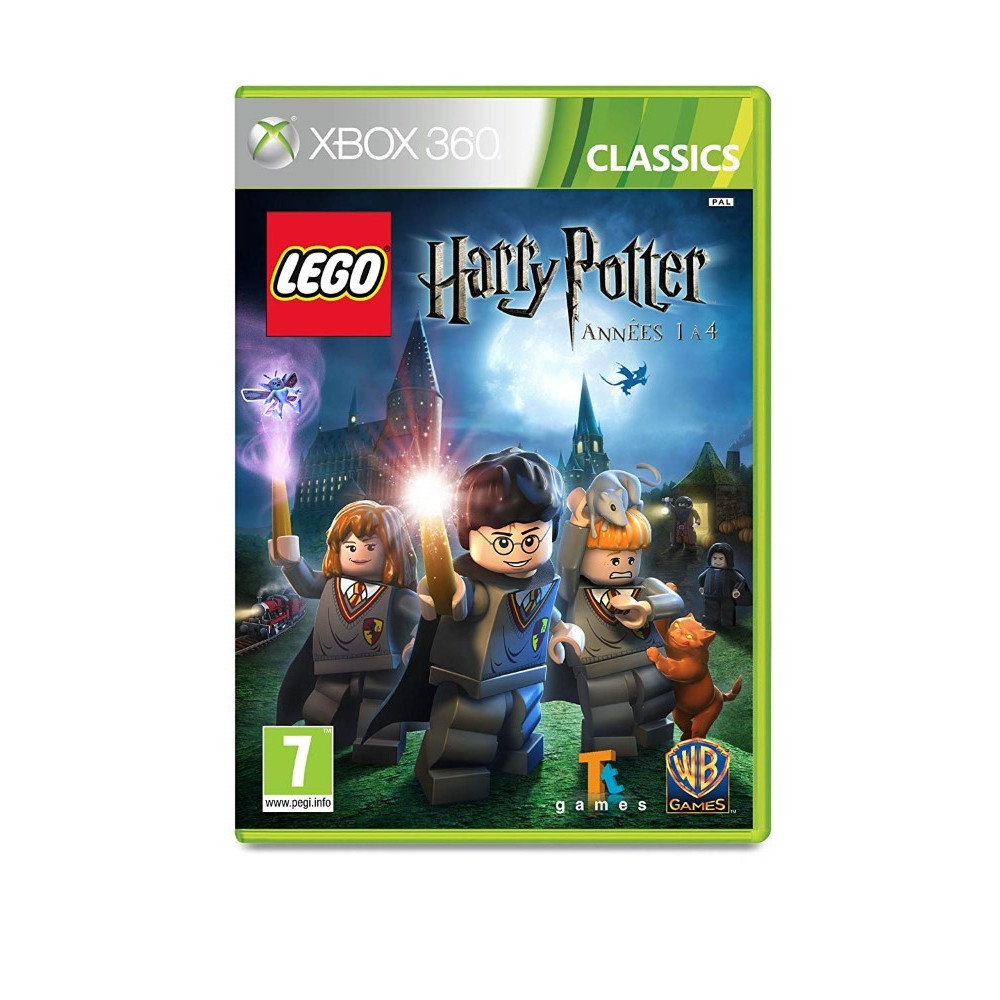 LEGO HARRY POTTER ANNEES 1 A 4 CLASSICS XBOX 360 PAL-FR NEW