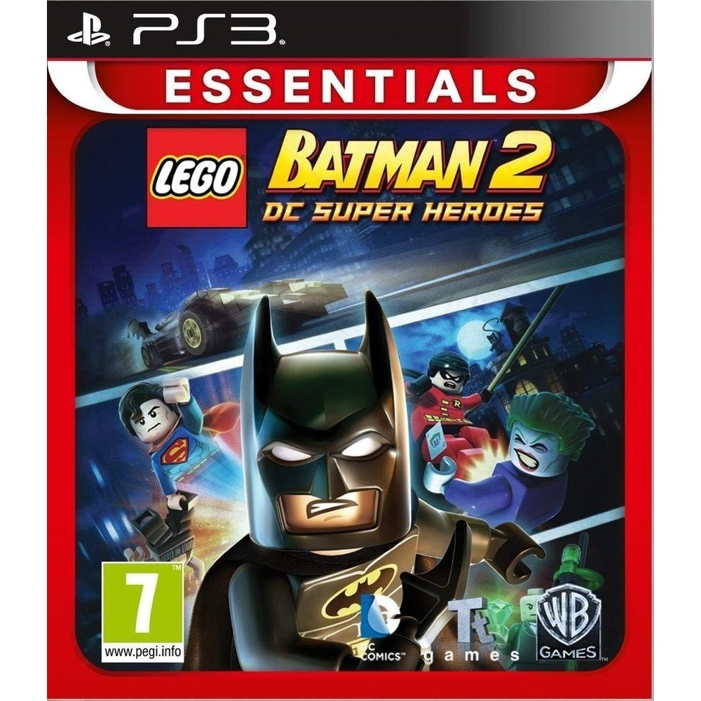 LEGO BATMAN 2 ESSENTIAL PS3 FR NEW