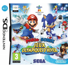 MARIO & SONIC AUX JEUX OLYMPIQUES D'HIVER NDS FRA OCCASION