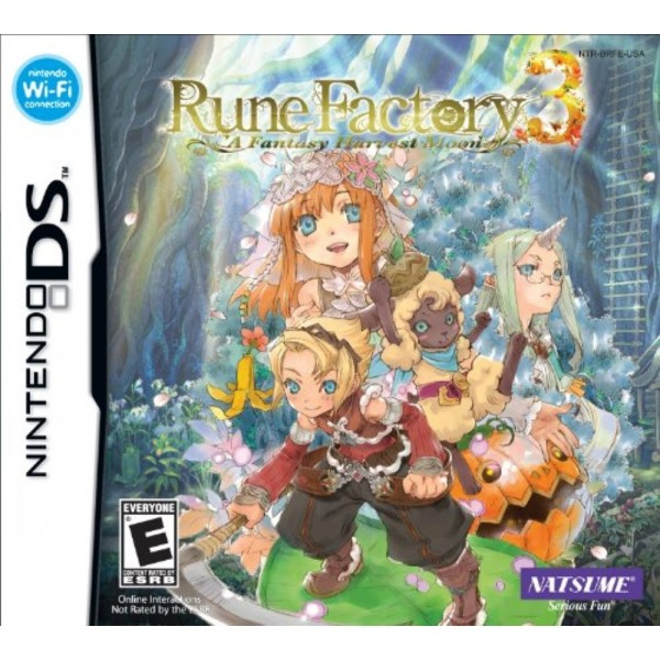 RUNE FACTORY A FANTASY HARVEST MOON NDS USA OCCASION
