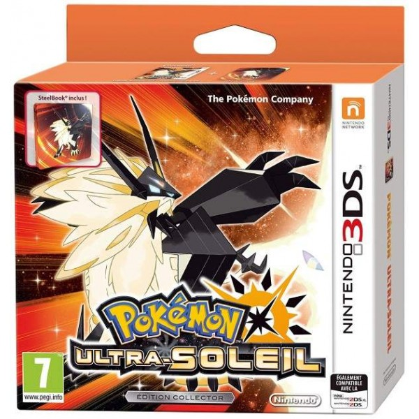 POKEMON ULTRA SOLEIL EDITION COLLECTOR 3DS FR NEW