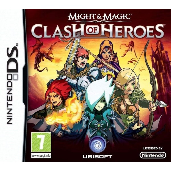 MIGHT & MAGIC CLASH OF HEROES NDS FR OCCASION (ETAT B)