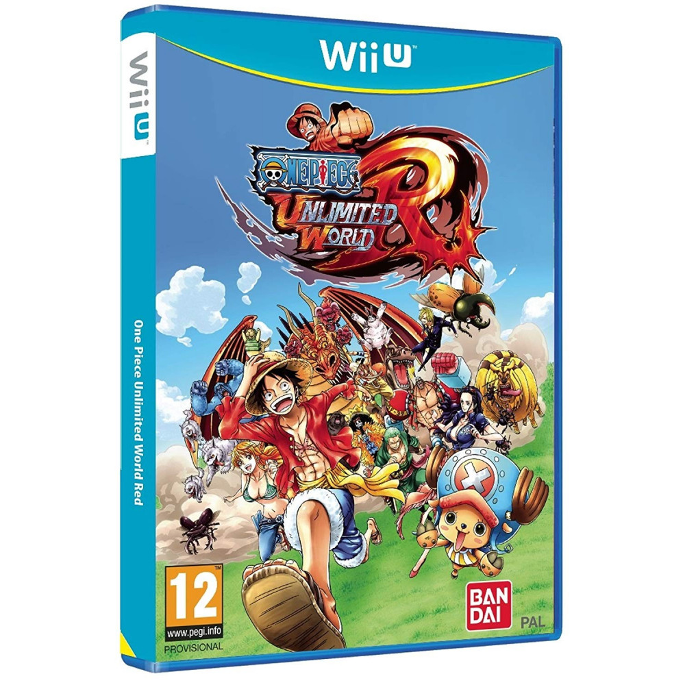 ONE PIECE UNLIMITED WORLD RED WIIU PAL-FR OCCASION