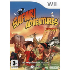 SAFARI ADVENTURES: AFRIQUE WII PAL-FR OCCASION