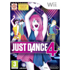 JUST DANCE 4 WII PAL FR OCCASION