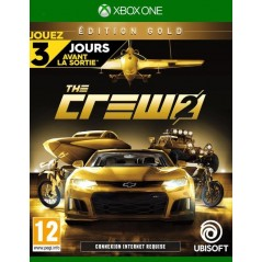 THE CREW 2 GOLD EDITION XBOX ONE EURO FR NEW
