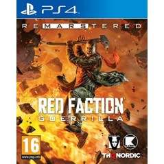 RED FACTION GUERILLA REMASTERED PS4 FR NEW