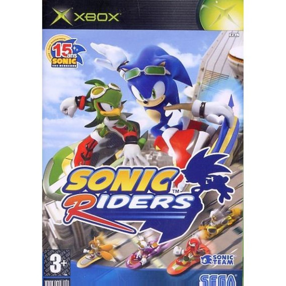 SONIC RIDERS XBOX PAL-FR OCCASION