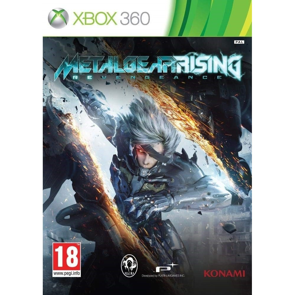 METAL RISING REVENGEANCE XBOX 360 PAL-FR OCCASION