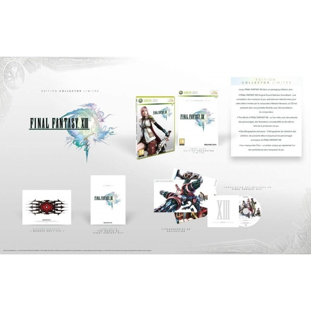 FINAL FANTASY XIII COLLECTOR XBOX 360 PAL-FR OCCASION