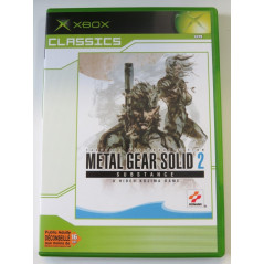 METAL GEAR SOLID 2: SUBSTANCE XBOX PAL-FR OCCASION