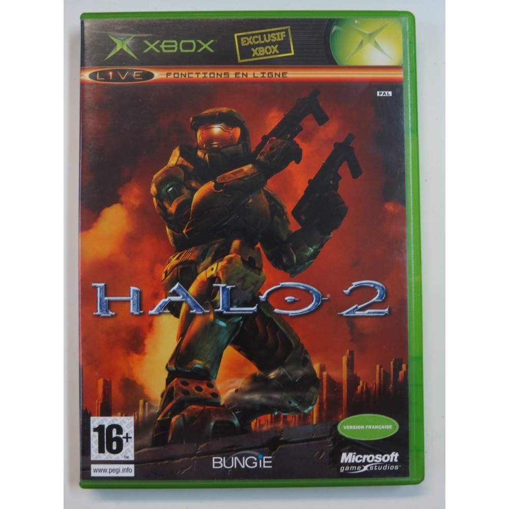 HALO 2 XBOX PAL-FR OCCASION