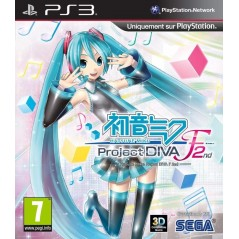 HATSUNE MIKU PROJECT DIVA F 2ND PS3 FR OCCASION