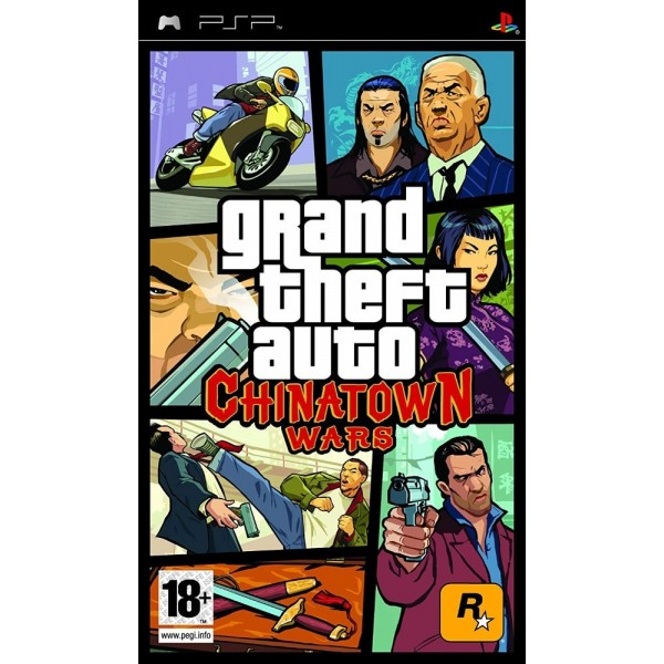 GRAND THEFT AUTO: CHINATOWN WARS PSP FR OCCASION