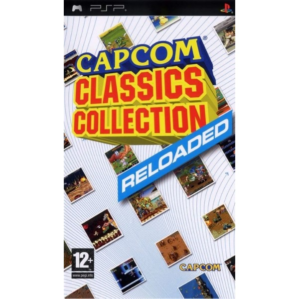 CAPCOM CLASSICS COLLECTION RELOADED PSP FR OCCASION (ETAT B)