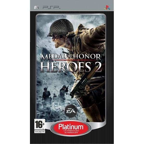 MEDAL OF HONOR HEROES 2 PLATINIUM PSP FR OCCASION