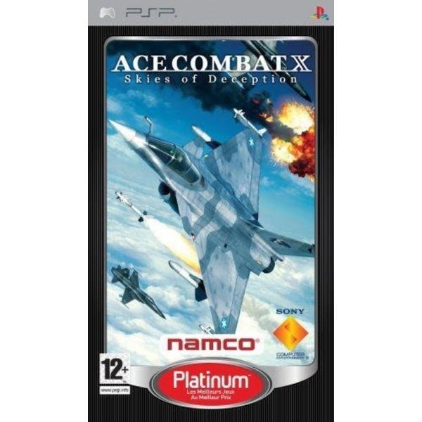 ACE COMBAT X SKIES OF DECEPTION PLATINUM PSP FR OCCASION