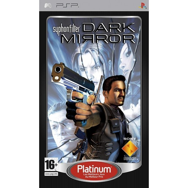 SYPHON FILTER DARK MIRROR PLATINUM PSP FR OCCASION