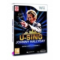 U-SING JOHNNY HALLYDAY WII PAL-FR OCCASION