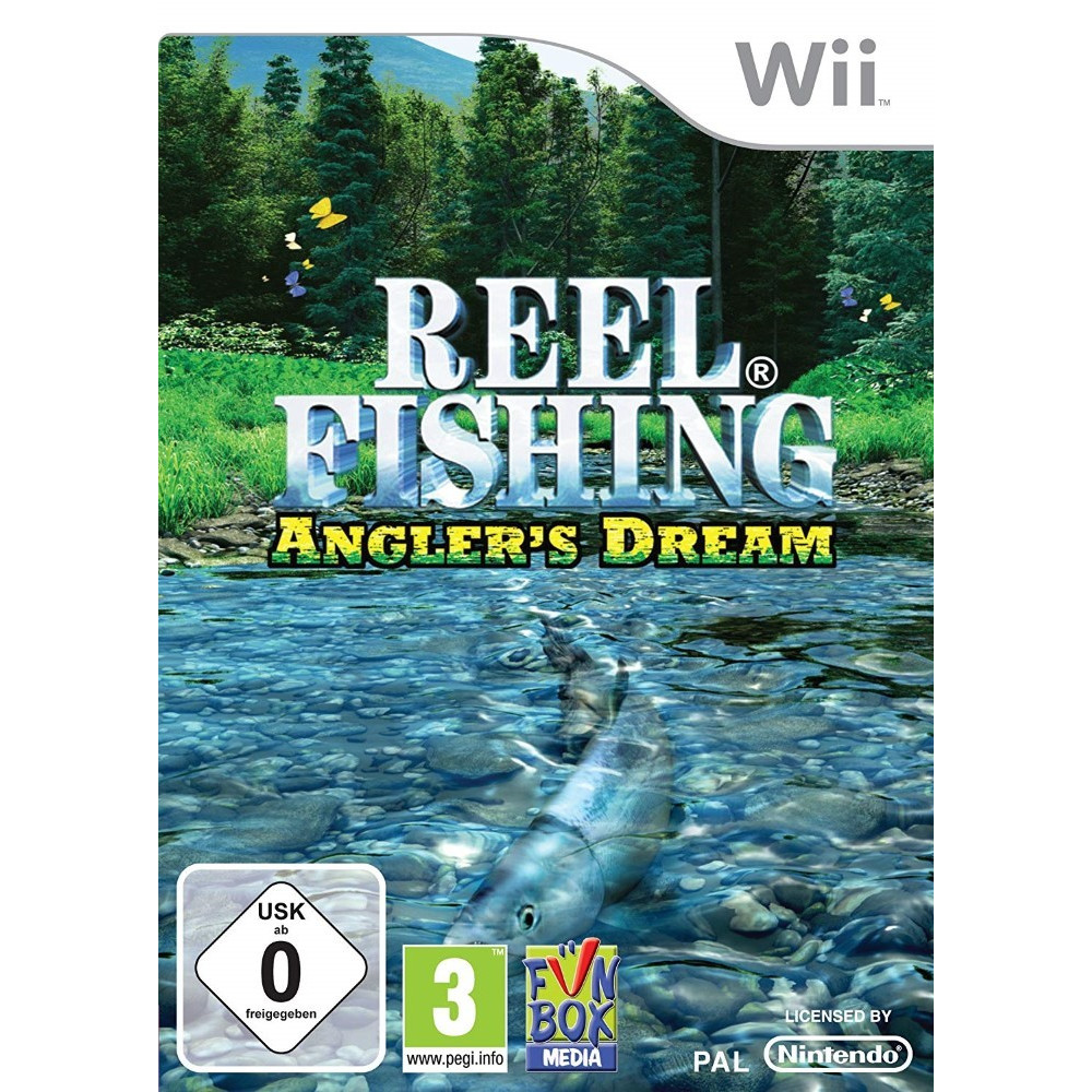 REEL FISHING - ANGLER S DREAM WII PAL-EURO OCCASION