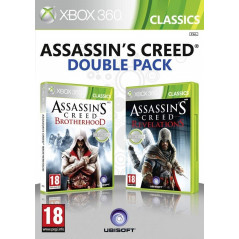 ASSASSIN'S CREED BROTHERHOOD + ASSASSIN'S CREED REVELATIONS XBOX 360 PAL-FR OVVASION