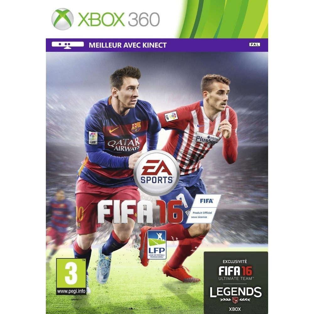 FIFA 16 X360 FR OCCASION