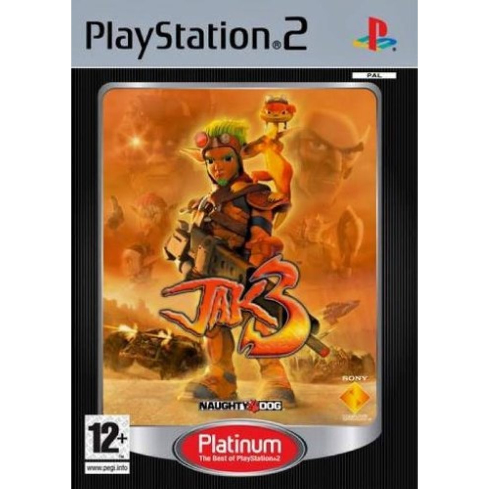 JAK 3 (PLATINUM) PS2 PAL-FR OCCASION