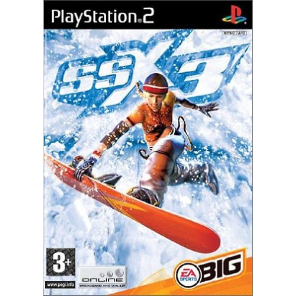 SSX 3 PS2 PAL-FR OCCASION