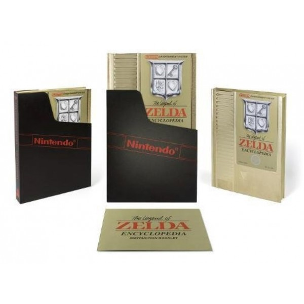 THE LEGEND OF ZELDA ENCYCLOPEDIA LIMITED EDITION EURO NEW