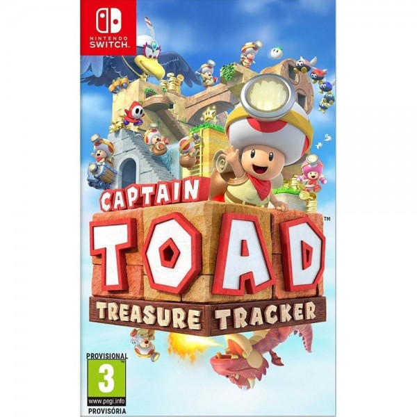 CAPTAIN TOAD TREASURE TRACKER SWITCH PAL FR NEW