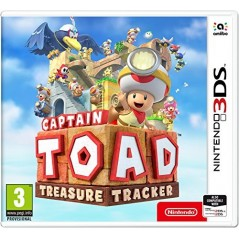 CAPTAIN TOAD TREASURE TRACKER 3DS UK NEW